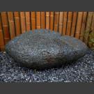 schwarze Lava Linse 170kg