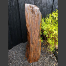 Tigerauge Naturstein Monolith geschliffen 149cm