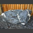 Quarz Schiefer Felsen schwarz weiß 155kg