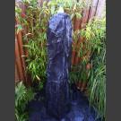 Marmor Komplettset Brunnen schwarz 150cm