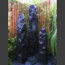 Trimeteori Brunnen schwarzer Marmor bruchrau 150cm