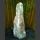 Monolith Brunnen weiß-rosa Marmor 95cm