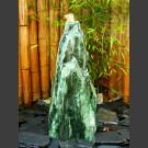 Komplettset Brunnen Atlantis Spaltfelsen grüner Quarzit 60cm