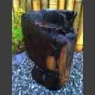versteinertes Holz schwarz 49cm