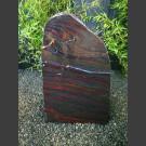 Redwood Jaspis Naturstein Felsen poliert