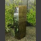 Naturstein Basalt Felsen grün-schwarz 140cm