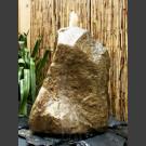 Sandstein Quellstein Felsen beige 50cm