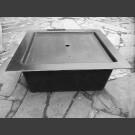 GFK-Becken quadratisch 100cm mit GFK-Abdeckung