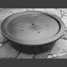GFK-Becken rund mit GFK-Abdeckung 120cm