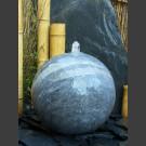 Blaustein Kugel Sprudelstein geschliffen 30cm