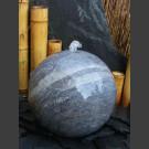 Blaustein Kugel Sprudelstein geschliffen 40cm