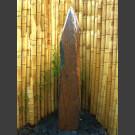 Komplettset Brunnen graubrauner Schiefer 200cm