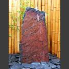 Komplettset Brunnen rotschwarzer Schiefer 95cm