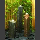 Basaltsäulen 3er Brunnenset 75cm