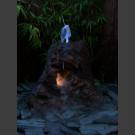 Lava Vulkan Gartenbrunnen 55cm