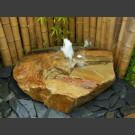 Halogen Sandstein Schaumsprudler Quellstein 65cm