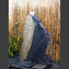 Gartenbrunnen Komplettset grau-schwarzer Schiefer 30cm
