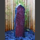 Komplettset Brunnen rotschwarzer Schiefer 120cm