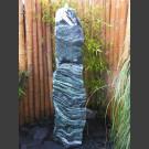 Atlantis Monolith Quellstein Spaltfelsen grüner Quarzit 150cm hoch