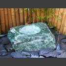 Gartenbrunnen Lappland grün ausgehöhlt 60cm