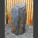 Monolith grau-brauner Schiefer 74cm hoch