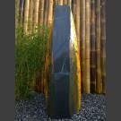 Schiefer Monolith schwarz bunt 117cm hoch