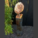 Schieferskulptur versteinertes Holz
