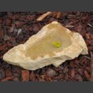 Vogeltränke beiger Sandstein 30cm