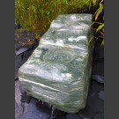 Bachlauf Kaskaden Brunnen grüner Marmor 290kg