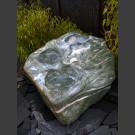 Bachlauf Kaskaden Brunnen grüner Marmor 400kg