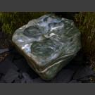 Bachlauf Kaskade Quellstein grüner Marmor 400kg