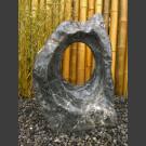 Marmor Showstone Skulptur schwarz-weiß 70cm