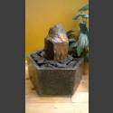 Fontaine d'intérieur set Basalte en bassin de granit hexagonal