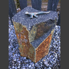 Lézard Bronze sur Basalte