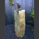 Bronze Emanuelle sur Colonne de Basalte