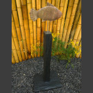 Poisson Sculpture en schiste 4