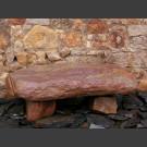 Banc de pierre de schiste Flintstone