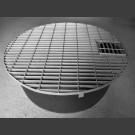 PE-Réservoir rond avec grille pour couvrir rond 90cm