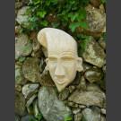 Masque Guanche en pierre naturelle