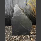 Pierre Solitäre Schiste noir 74cm de haut