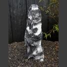 Alaska Marbre Monolith noir-blanc 82cm de haut