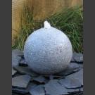 Boule de Fontaine complet granite gris 40cm