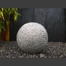 Boule en granite gris 30cm