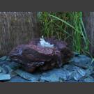 Fontaine de jardin Lave avec creux 45cm
