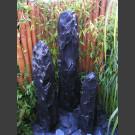 Fontaine Trimeteori marbre noir 150cm