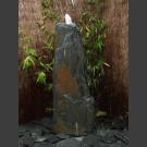 Fontaine Monolith schiste gris-noir 140cm