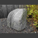 Gneiss Bloc erratique naturelle 58cm de haut