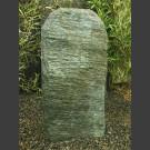 Roche de pierre solitaire Serpentinite à facettes 90cm