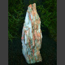 Monolith Marbre blanc-rouge 100cm