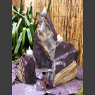 Fontaine Triolithes schiste violet 50cm